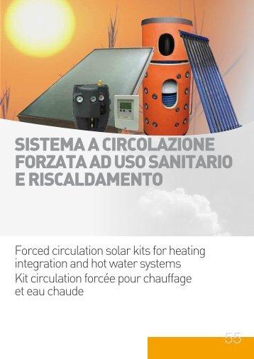 sistema a circolazione forzata ad uso sanitario e ... - Solart.si