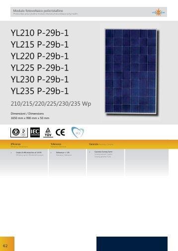YL210 P-29b-1 YL215 P-29b-1 YL220 P-29b-1 YL225 P-29b-1 ...