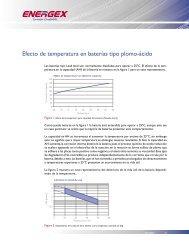 Efecto de temperatura en baterías tipo plomo-ácido - Solarweb