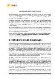 I.- CONSIDERACIONES GENERALES - Solarweb