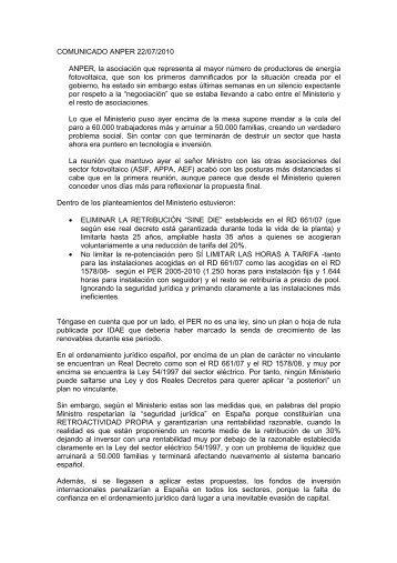 100722_comunicado ANPER_V01.pdf - Solarweb