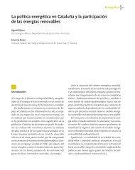 La política energética en Cataluña y la participación de ... - Solarweb