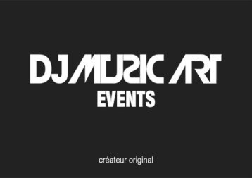 DJ MUSIC ART EVENTS - Prix