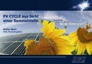 EWS als Sammelstelle - SolarZentrum Hamburg