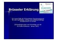 Brüsseler Erklärung