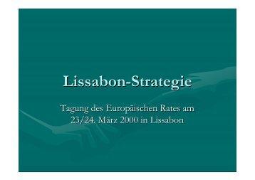 Lissabon-Strategie