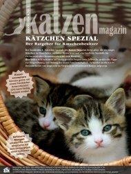 Kätzchen Spezial (Schweizer Katzen-Magazin)