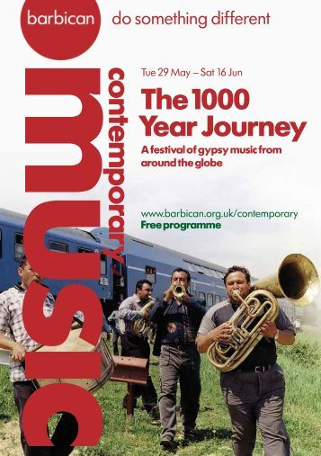 The 1000 Year Journey - Barbican