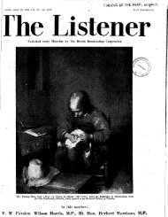 Chorus of the Dead, The Listener, April 28, 1949 - solearabiantree