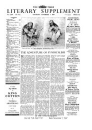 The Times Literary Supplement, November 1, 1947 - solearabiantree