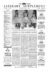 Times Literary Supplement, May 11, 1946 - solearabiantree