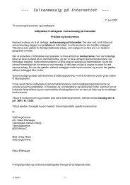 Prisliste og konkurrence - SolEnergiCentret