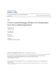 A New Control Strategy of Indoor Air Temperature in an Air-Conditioner