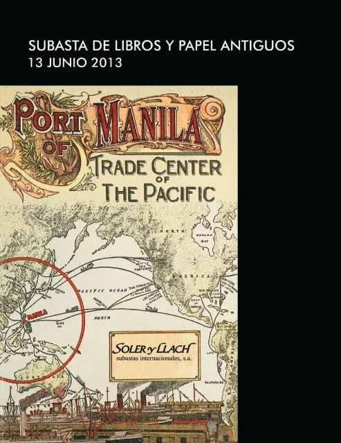 Subasta De Libros Antiguos Manuscritos Grabados Mapas