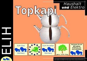Topkapi Katalog Haushalt&Elektro 1 - ELIH International