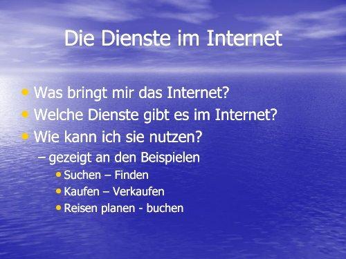 Die Dienste Im Internet Am Neckar Und Am Rhein Die
