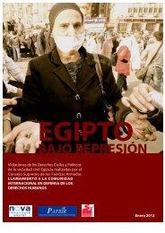 Informe: Egipto bajo represión - Solidaridad Internacional