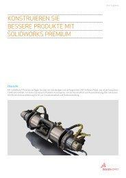 Konstruieren Sie bessere Produkte mit SolidWorks Premium