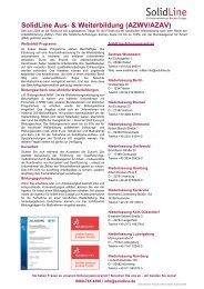SolidLine Aus- & Weiterbildung (AZWV/AZAV) - SolidLine AG