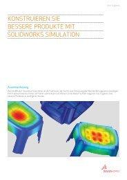 Bessere Produkte mit SolidWorks Simulation.
