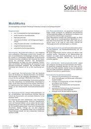 Produktdatenblatt MoldWorks - SolidLine AG