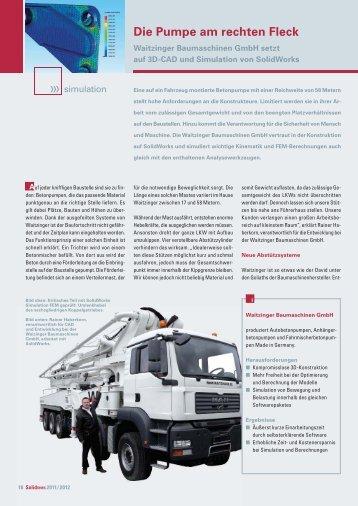 Die Pumpe am rechten Fleck - Solid Solutions AG