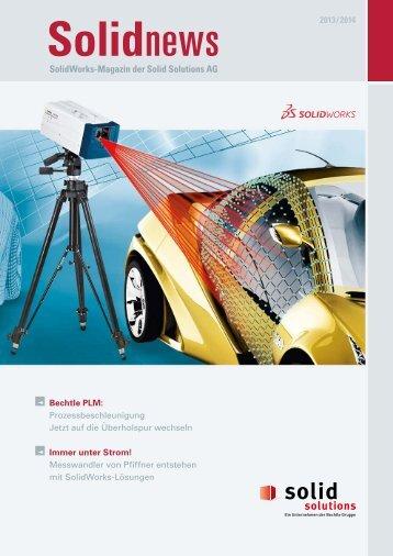 SolidWorks-Magazin der Solid Solutions AG
