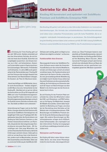 Getriebe für die Zukunft - Solid Solutions AG