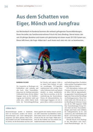 Aus dem schatten von eiger, Mönch und Jungfrau - Solid Solutions AG