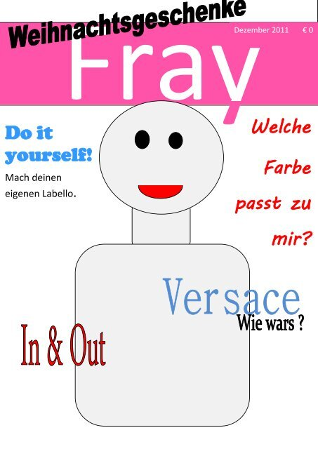 Welche Farbe passt zu mir? Do it yourself! - Blog.de