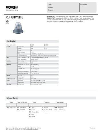 RUNWAYLITE - Solid State Luminaires