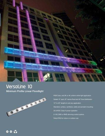 VersaLine 10 - Solid State Luminaires