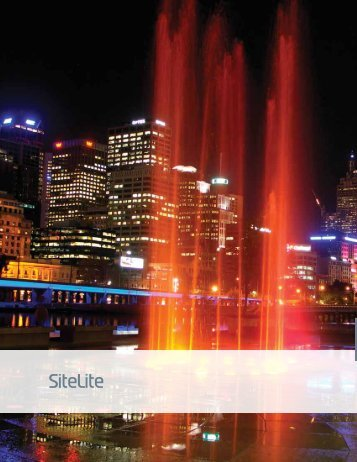 SiteLite - Solid State Luminaires