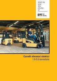 Carrelli elevatori elettrici 1.0-5.0 tonnellate - Cat Lift Trucks