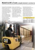Carrelli elevatori elettrici 1.0-5.0 tonnellate - Cat Lift Trucks - Page 6