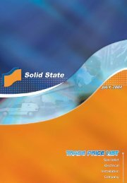 Solid State 2004 PRICE - Solid State Security