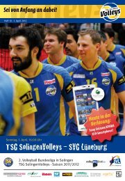 TSG SolingenVolleys – SVG Lüneburg