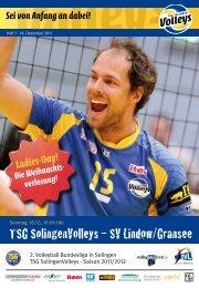TSG SolingenVolleys – SV Lindow/Gransee