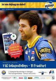 TSG SolingenVolleys – VI Frankfurt