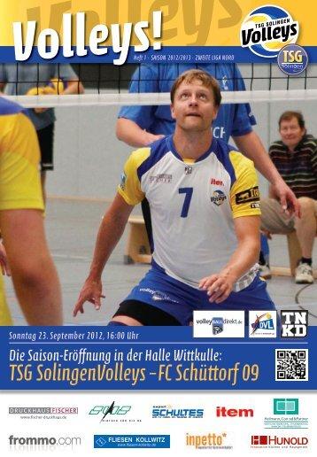 TSG SolingenVolleys – FC Schüttorf 09