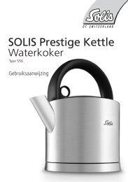 SOLIS Prestige Kettle