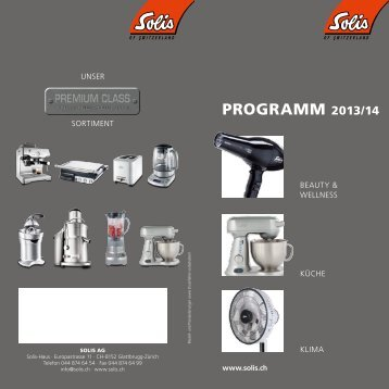 programm 2013/14 - Solis