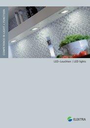 LED-Leuchten | LED lights - Elektra
