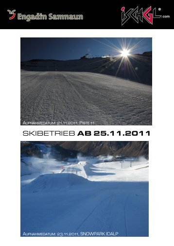 SKIBETRIEB AB 25.11.2011
