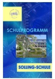 Schulprogramm - Solling-Schule