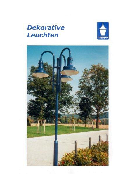 Unser aktueller Katalog Dekorative Leuchten