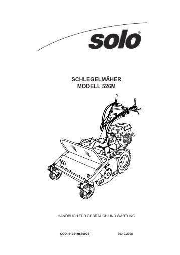 2. symbole an der maschine - SOLO Kleinmotoren GmbH