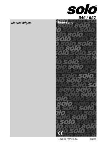 Manual original Moto-serra