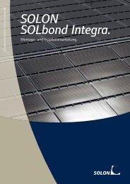 SOLON SOLbond Integra.