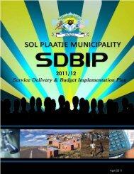 sdbip- 2011/12 - Sol Plaatje Municipality